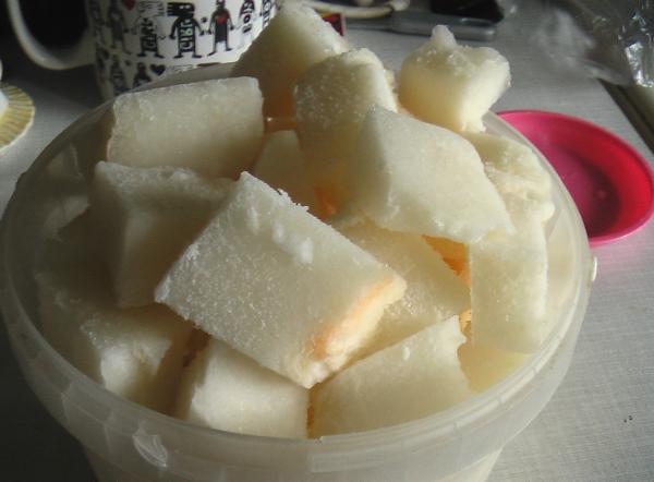 как заморозить дыню на зиму