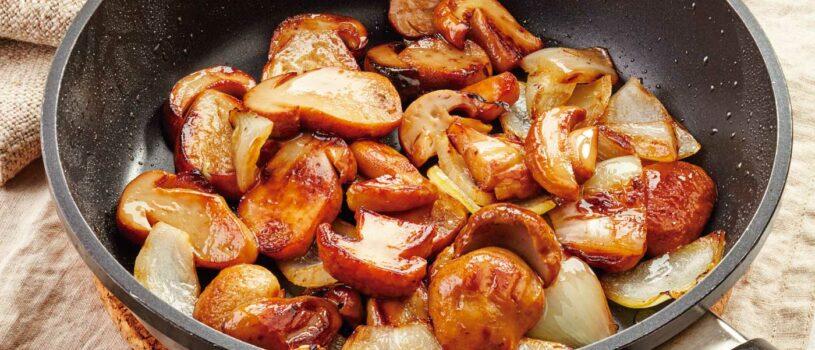Рецепты на зиму жареных белых грибов