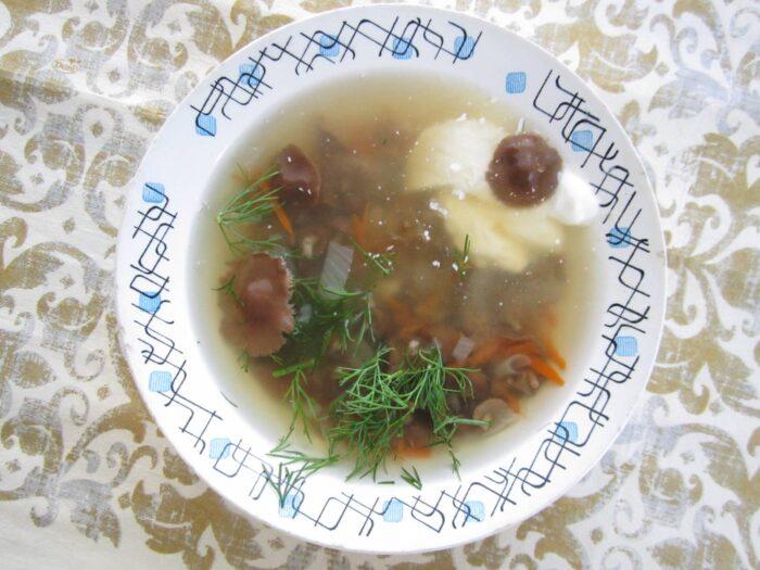приготовление супа фото
