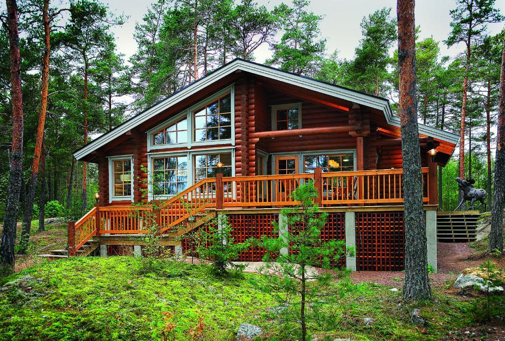 Строительство деревянных коттеджей