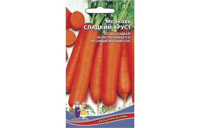 морковь ранняя сладкая описание сорта