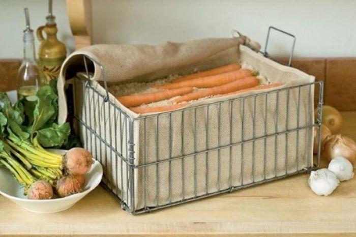 где хранить морковь в холодильнике или нет