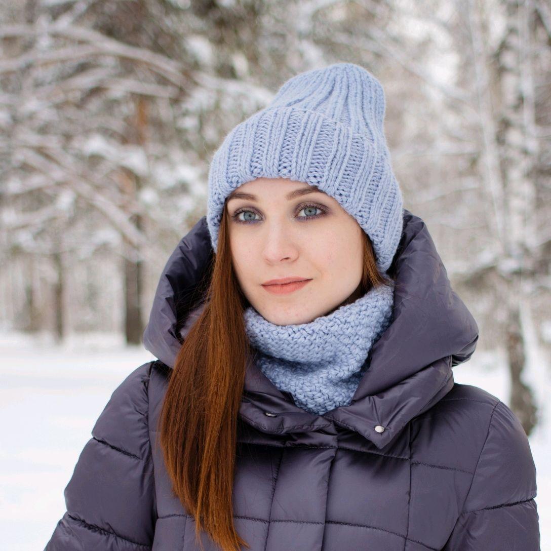 Лучшие модели женских вязаных шапок для холодов
