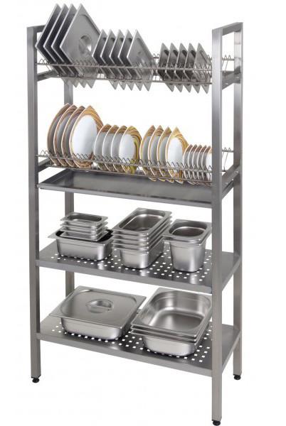 Как выбрать профессиональные полки для сушки посуды