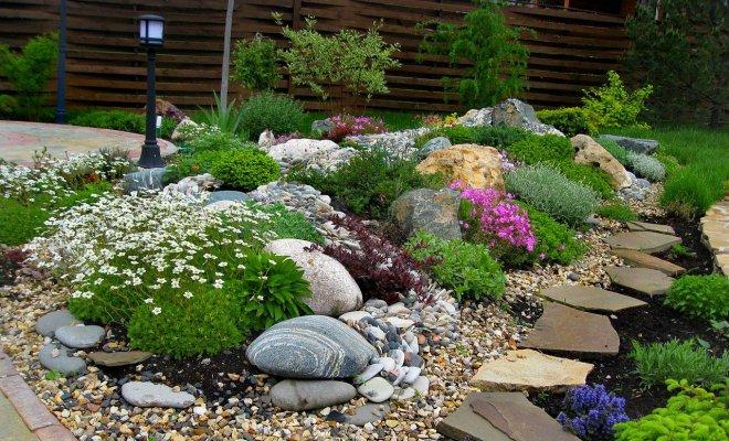 Какое найти применение для камней и валунов в саду?